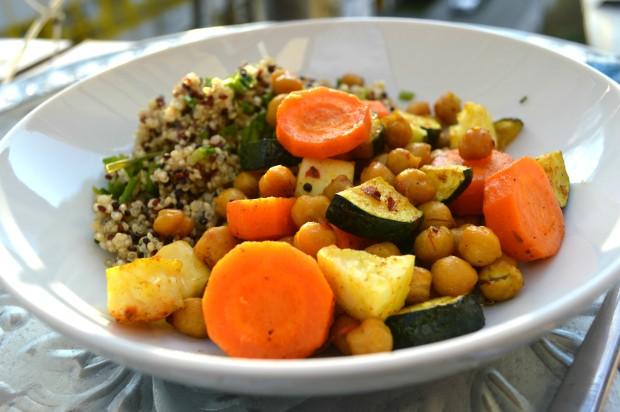 quinoa mit Ofengemüse1