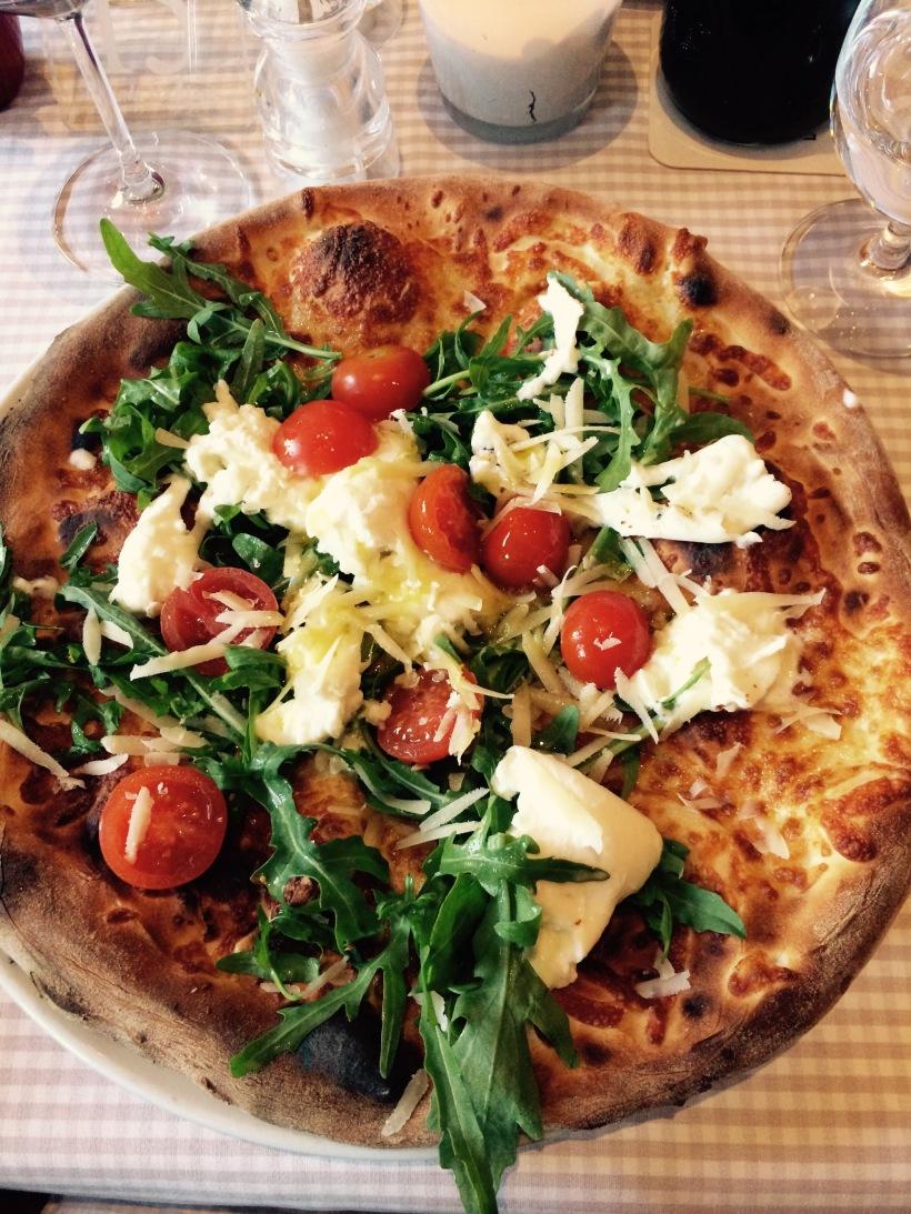 Pizza Buffalina im Locanda Italina
