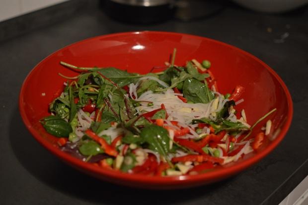 Vermicelli-Salat 2