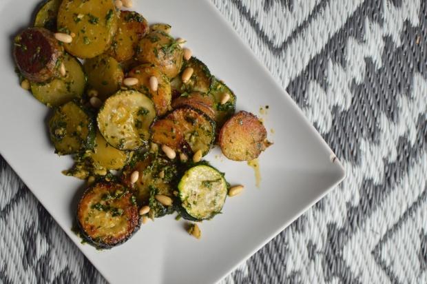 Kartoffel Zucchini Pfanne 2