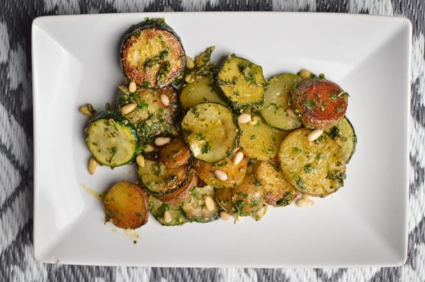 Kartoffel Zucchini Pfanne 4-2